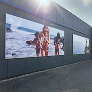 Bannerrammer til vægmontering
