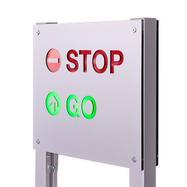 Indgangskontrol- & kø nummer system