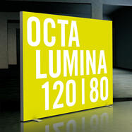 "LED lysvæg ""OCTAlumina 120"", fritstående"