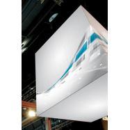 """Digitaltryk banner til Stretchframe system """"Cube"""""""