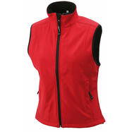 Dame 3-lags softshell vest