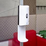 Sensor-Wall - desinfektionsdispenser til Stretchframe & 30's Quattro profil