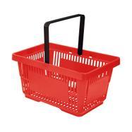 Indkøbskurv i plast