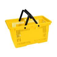 Indkøbskurv i plastik