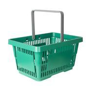 Indkøbskurv af genbrugsmateriale