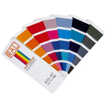 RAL-K7 farvekort
