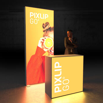 "Pixlip GO  LED Messestand  ""Stand HL10"""