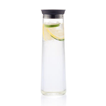 Vandkaraffel med silikonelukning