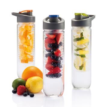 Vandflaske med aromarør