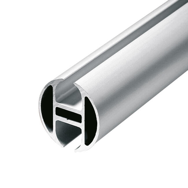 "Aluminiums-kantskinne rund ""Rail"""
