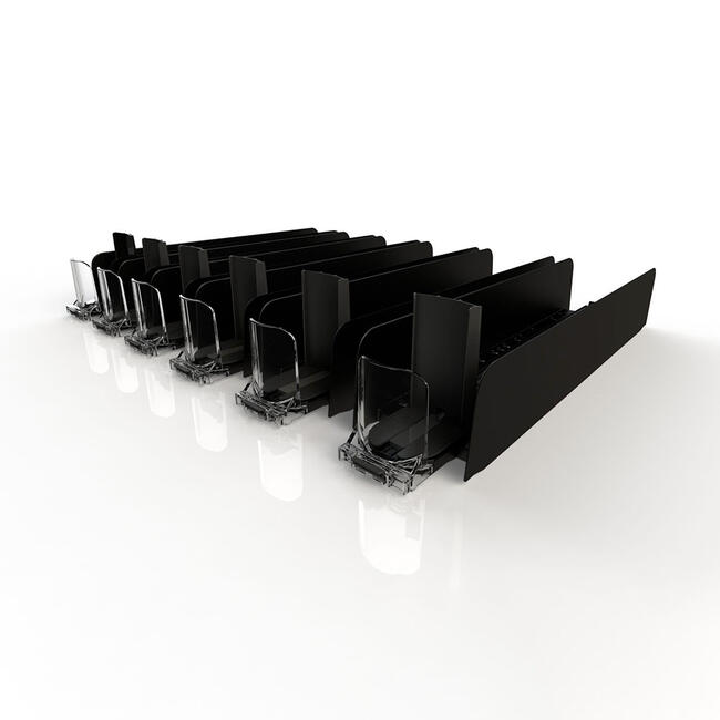 "Vareskubber system ""Adjustable Tray"""
