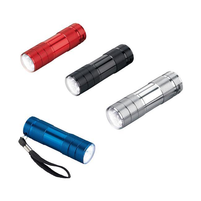 LED Lygte med 6 LED lys