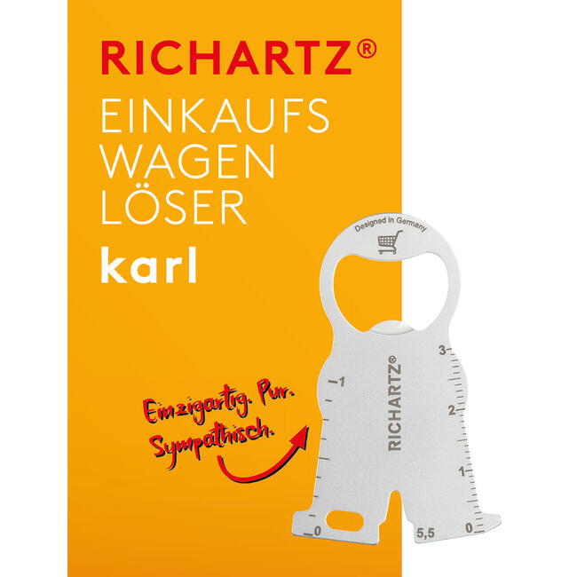 "RICHARTZ indkøbsvognløser ""Karl"""