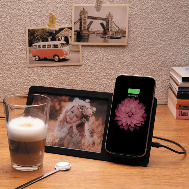 5W Wireless Charger med fotoramme