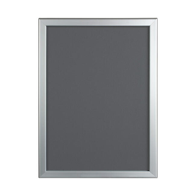 Kllikramme, 32 mm profil, geringshjørner, sølvanodiseret