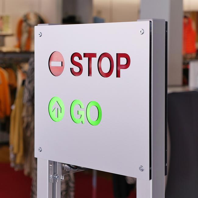 Indgangskontrol Counter