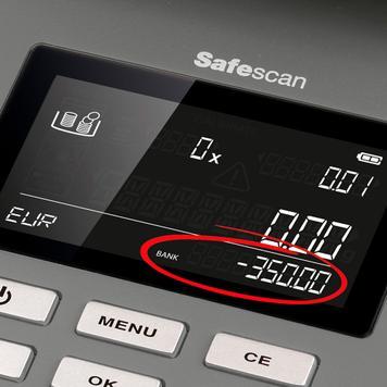 Safescan 6165 pengevægt/tæller