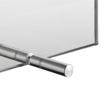 Hygiejne skærm af ESG glas