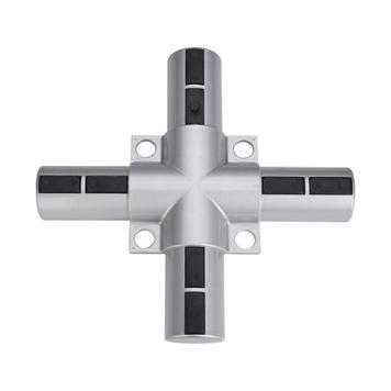 """Bannerramme modulsystem i aluminium """"Kryds - plast"""""""