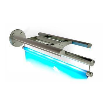 "Bannerholder INOX ""Udligger LED lys"""