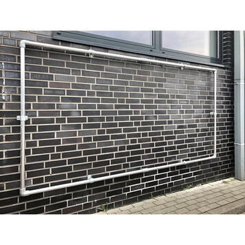 "Bannerramme plug-in system Alu Budget ""Wall"""
