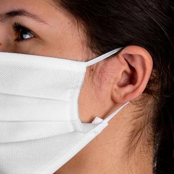 Ansigtsmaske 100% nonwoven stof, 2-lag