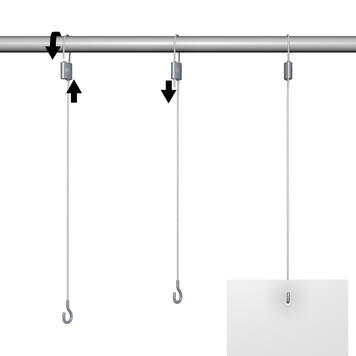 Øsken klemme til wirekabel 1,2 mm inkl. wirekabel
