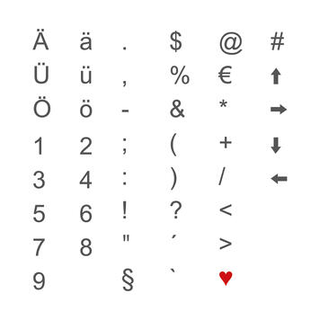 Indendørs LED bogstaver