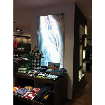 Digitaltryk banner til indendørs og udendørs brug